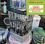 """Корзина для белья из пластика с рисунком """"Париж"""" (Paris). Элиф (Elif), Турция, фото 6"""