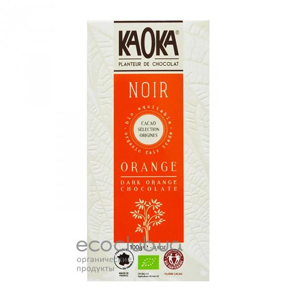 Шоколад черный с апельсином KAOKA 100г