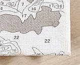 Картина по номерам Розовые мечты, 40х40см. (КНО2060), фото 4