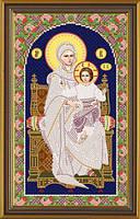 Набор для вышивки бисером Богородица на Престоле