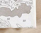 Картина по номерам Яркий павлин, 40х50см. (КНО2492), фото 4