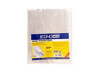 Файл для документов А4+ 30мкм фактура-глянець. (100шт/уп) ECONOMIX E31106