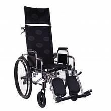 Коляска інвалідна OSD «RECLІNER» Багатофункціональна хром