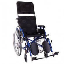 Коляска інвалідна OSD «RECLІNER MODERN» синя Багатофункціональна