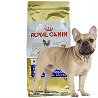 Сухой корм для взрослого французского бульдога Royal Canin French Bulldog Adult, 1.5 кг