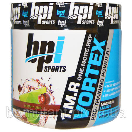 1.M.R Vortex  50 serv 150 гр вишня лайм BPI sports
