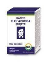 Капли В.Огаркова №5 Форте (при запорах) 50мл (БАД)
