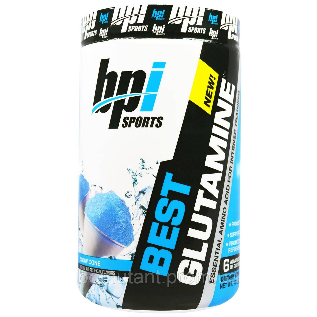 Best Glutamine 400 гр снежный конус BPI sports