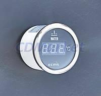 ECMS Цифровой термометр для измерения температуры воды за бортом ECMS PEW2-BS-240-33 черный 52мм