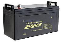 Fisher Акция! Гелевый аккумулятор для лодочного мотора Fisher 90Ah 12V, вес- 28кг. Бесплатная доставка по Киеву и Украине.