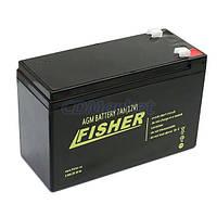 Fisher Акция! Гелевый аккумулятор для лодочного мотора Fisher 100Ah 12V, вес-30кг. Бесплатная доставка по Киеву и Украине.