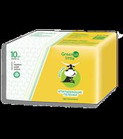 ГринЛаб Литлл пеленки детские одноразовые с рис.60*90см №10 (ИМН)