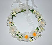 Венки из цветов на голову (от 1 шт)