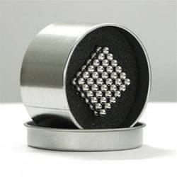 Игрушка NEO CUB Silver. Неокуб, магнитные шарики