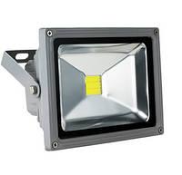 Прожектор LED 20w 6500K IP65 1LED LEMANSO серый / LMP20, прожектор освещение, прожектор уличный купить