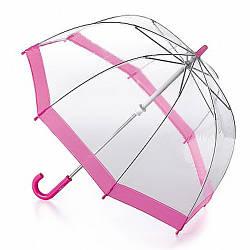 Детский прозрачный зонт для девочки