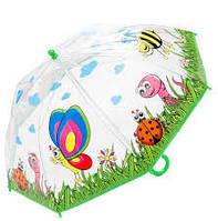 """Детский прозрачный зонт """"Животные"""""""