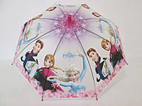 """Детский зонт для девочки """"Холодное сердце"""" (большой купол)"""