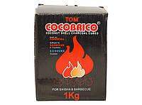 Уголь кокосовый 1 кг (72 шт.) U15