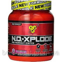 N.O.-XPLODE Pre-Workout Igniter New Formula! 60 serv. 1,11 кг виноград BSN