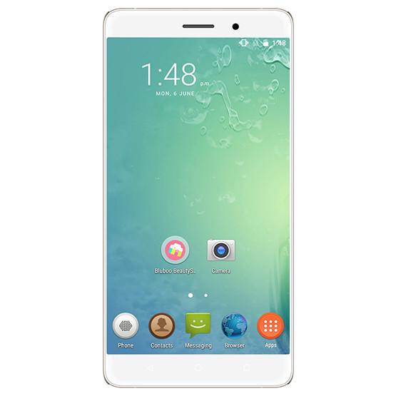 "Смартфон Bluboo Maya 5.5"" Серебристый, 2GB+16GB 2SIM 3G HD 1280x720 камера 8 и 5 МП GPS Android 6.0"