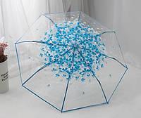 """Детский прозрачный зонт """"Лепестки"""""""