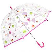 Детский прозрачный зонт со вставками