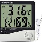 Домашня метеостанция HTC-2 ( термометр, гигрометр, часы, будильник, календарь)