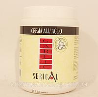 Крем -маска для волос Serical (Italia )ЧЕСНОК + ПШЕНИЦА для поврежденных волос, 1000 мл