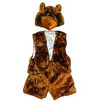 Маскарадный костюм меховой Медведь
