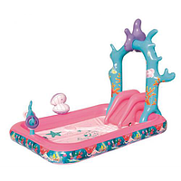 Надувной игровой центр для детей, Bestway 91051 Русалочка