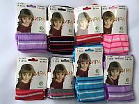 Детские колготки для девочки полосатик  Ира 92-164см.