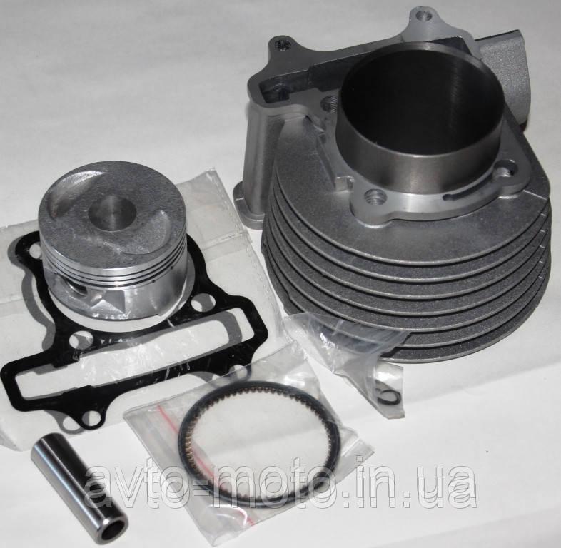 Цилиндр в сборе GY6-150  диам 57,2мм   ТММР