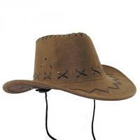 Шляпа Ковбоя Детская бежевая