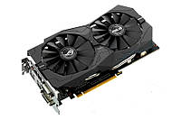 Видеоадаптер ASUS NVidia GTX1050 GAMING STRIX (2 GB / 128 bit GDDR5; 1354 (1455 boost) MHz / 7008 MHz; PCI-Exp