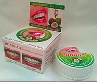 Отбеливающая зубная паста Thai Kinaree c экстрактом Кокоса