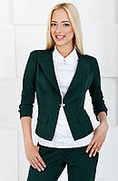 Укороченный женский пиджак