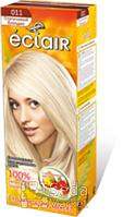 """Краска для волос ECLAIR """"Платиновый блонд"""" 011"""