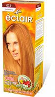 """Краска для волос ECLAIR """"Карамель"""" 019"""