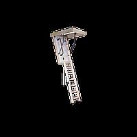 Лестница чердачная утеплённая складная EXTRA OMAN высота 280 см. размер 130х60 см