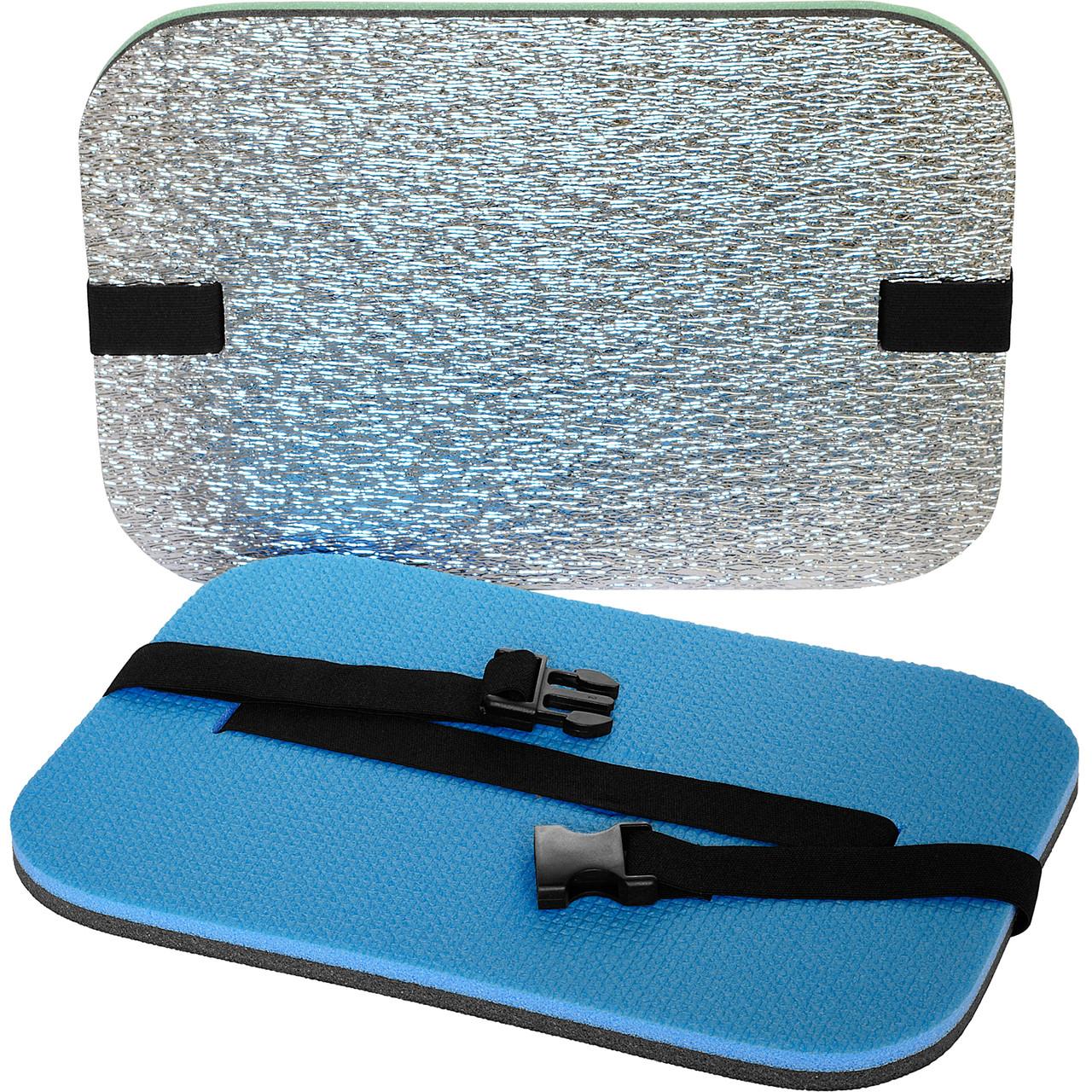 Коврик – сидушка фольгированная, теплоизоляционная 350×240×16мм