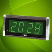 Настольные часы 730-2 Led Digital Clock, зеленые и красные