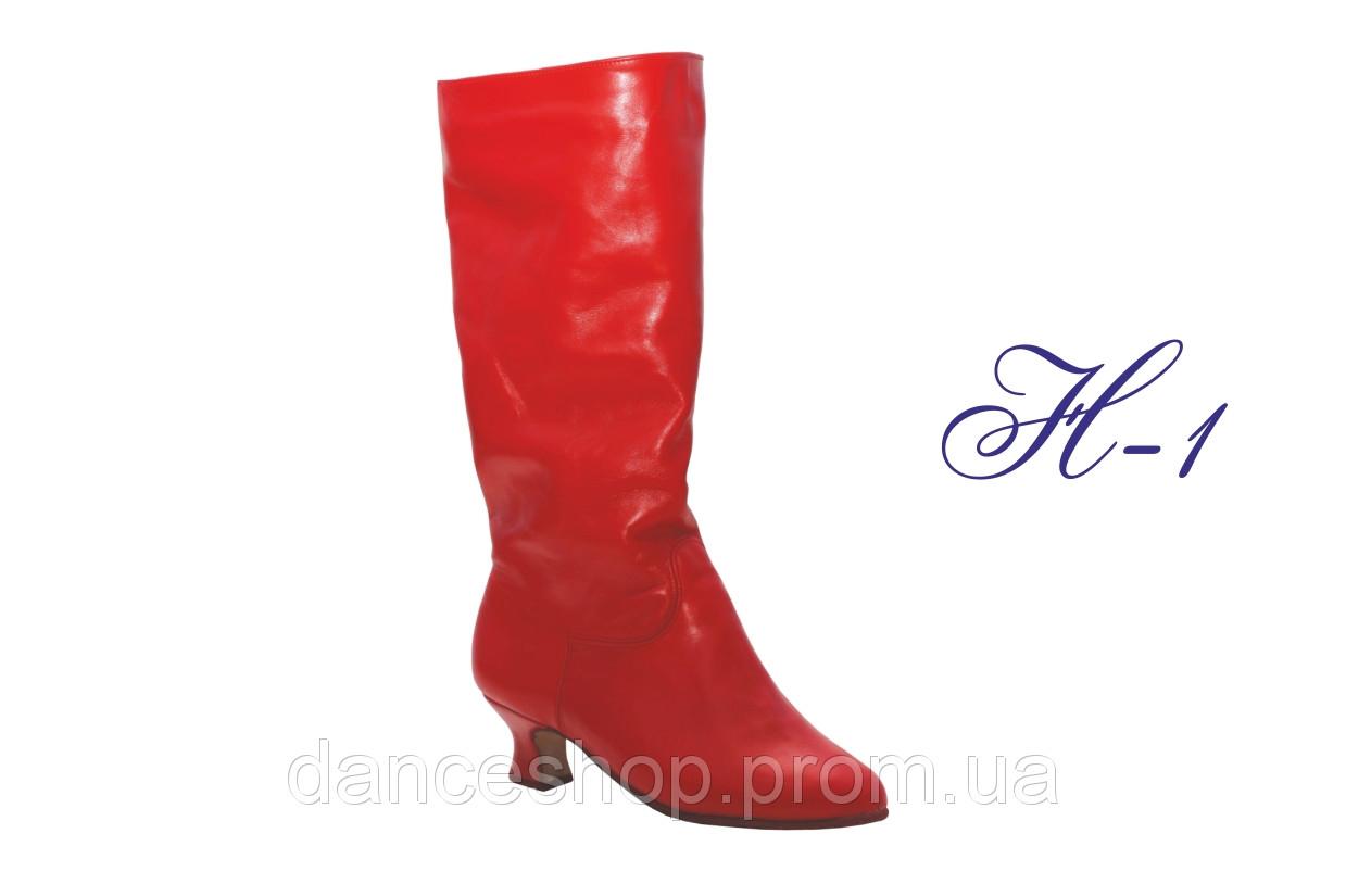 Народні чоботи жіночі