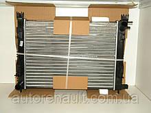 Водяной радиатор на Рено Логан II 1.6i+1.6i 16V + 1.5dCi (K9K 626 + 830+838) (+АС) POLCAR (Польша) 28M108A1