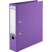 Папка-регистратор Axent Prestige+ A4 с двусторонним покрытием, 7,5 см фиолетовый