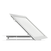 Светодиодный светильник врезной квадратный, 24Вт, Нейтральный Белый (NW) (4500K)