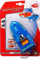 Скоростной катер, синий, 15 см, Dickie Toys (377 2001-2)