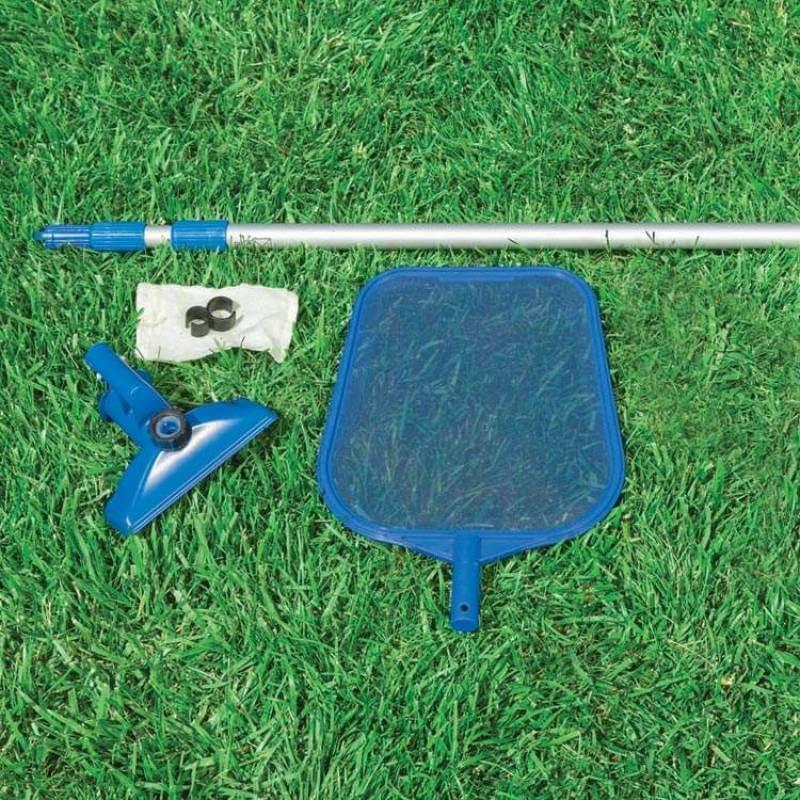 Набор аксессуаров для чистки поверхности бассейна Intex, от садового шланга (28002)