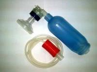 Аппарат в сборе с клапаном пациента и впускным клапаном к АДР-600 (мешок типа АМБУ)