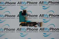 Шлейф для мобильного телефона Apple iPhone 6 Plus коннектора зарядки /коннектора наушников с компонентами Gray